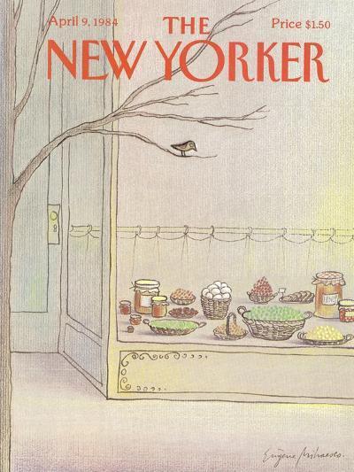 The New Yorker Cover - April 9, 1984-Eug?ne Mihaesco-Premium Giclee Print