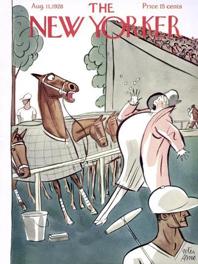 The New Yorker Cover - August 11, 1928-Peter Arno-Premium Giclee Print