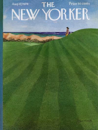 The New Yorker Cover - August 12, 1974-Albert Hubbell-Premium Giclee Print
