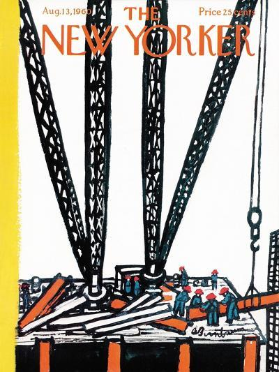 The New Yorker Cover - August 13, 1960-Abe Birnbaum-Premium Giclee Print