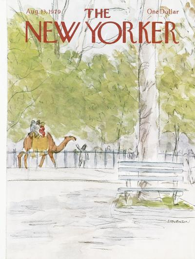 The New Yorker Cover - August 13, 1979-James Stevenson-Premium Giclee Print