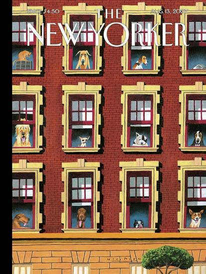 The New Yorker Cover - August 13, 2007-Mark Ulriksen-Premium Giclee Print