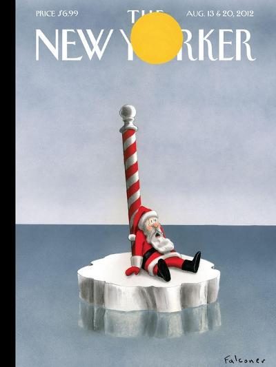 The New Yorker Cover - August 13, 2012-Ian Falconer-Premium Giclee Print