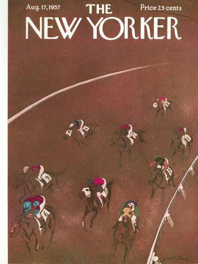 The New Yorker Cover - August 17, 1957-Garrett Price-Premium Giclee Print