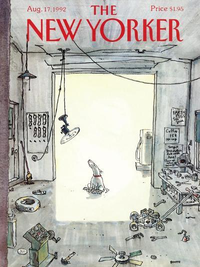 The New Yorker Cover - August 17, 1992-George Booth-Premium Giclee Print