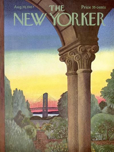 The New Yorker Cover - August 19, 1967-Charles E. Martin-Premium Giclee Print