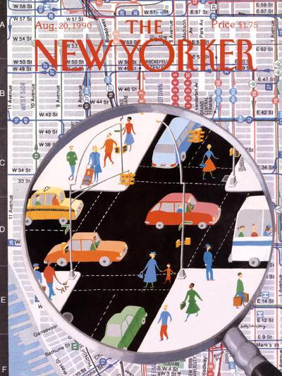 The New Yorker Cover - August 20, 1990-Kathy Osborn-Premium Giclee Print