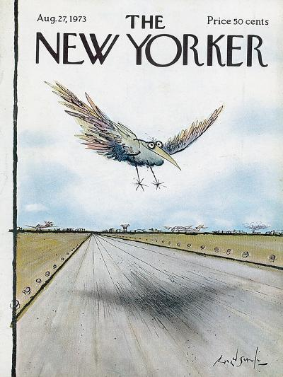 The New Yorker Cover - August 27, 1973-Ronald Searle-Premium Giclee Print