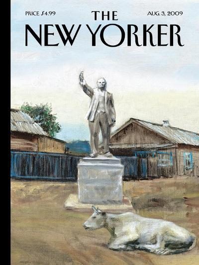 The New Yorker Cover - August 3, 2009-Alex Melamid-Premium Giclee Print
