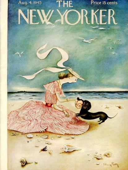 The New Yorker Cover - August 4, 1945-Mary Petty-Premium Giclee Print