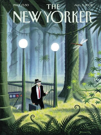 The New Yorker Cover - August 5, 2002-Eric Drooker-Premium Giclee Print