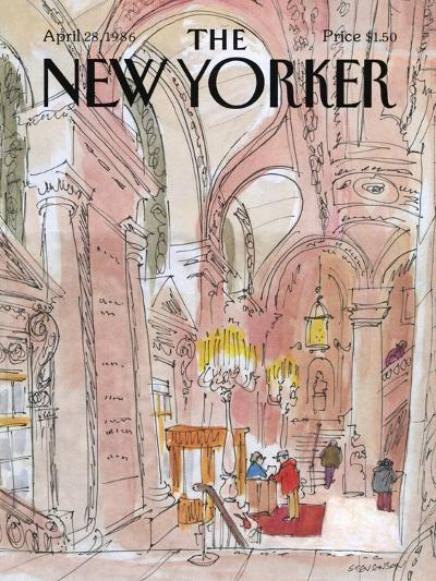 The New Yorker Cover - August 6, 1938-Charles E. Martin-Premium Giclee Print