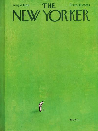 The New Yorker Cover - August 6, 1966-Abe Birnbaum-Premium Giclee Print