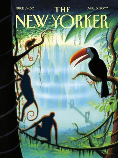 The New Yorker Cover - August 6, 2007-Eric Drooker-Premium Giclee Print