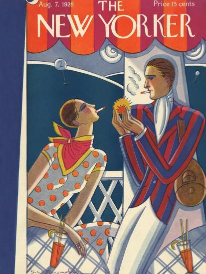 The New Yorker Cover - August 7, 1926-Stanley W. Reynolds-Premium Giclee Print