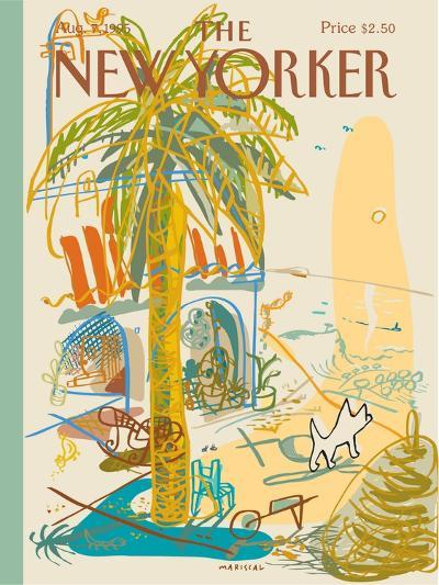 The New Yorker Cover - August 7, 1995-Javier Mariscal-Premium Giclee Print