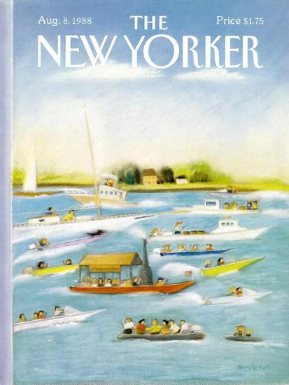 The New Yorker Cover - August 8, 1988-Susan Davis-Premium Giclee Print