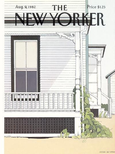 The New Yorker Cover - August 9, 1982-Gretchen Dow Simpson-Premium Giclee Print