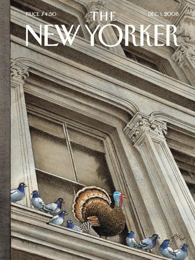 The New Yorker Cover - December 1, 2008-Harry Bliss-Premium Giclee Print