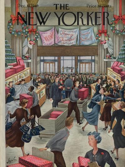 The New Yorker Cover - December 10, 1949-Constantin Alajalov-Premium Giclee Print