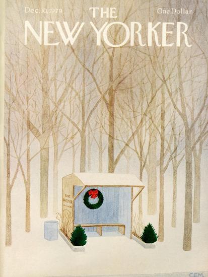 The New Yorker Cover - December 10, 1979-Charles E. Martin-Premium Giclee Print