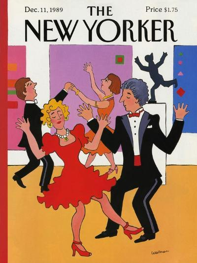 The New Yorker Cover - December 11, 1989-Barbara Westman-Premium Giclee Print