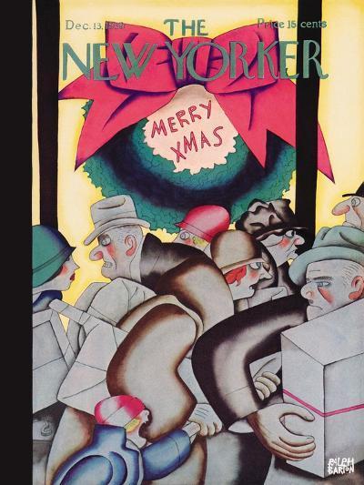 The New Yorker Cover - December 13, 1930-Ralph Barton-Premium Giclee Print