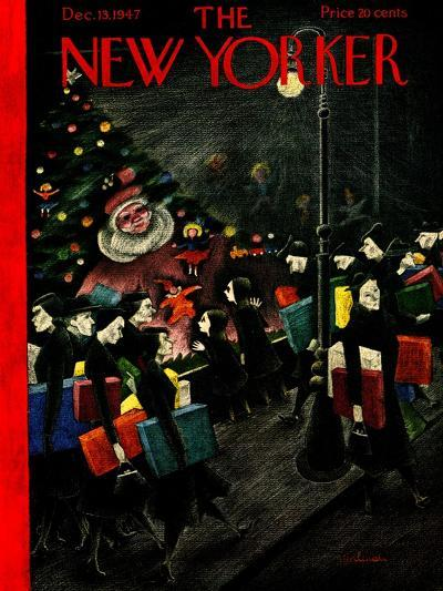 The New Yorker Cover - December 13, 1947-Christina Malman-Premium Giclee Print