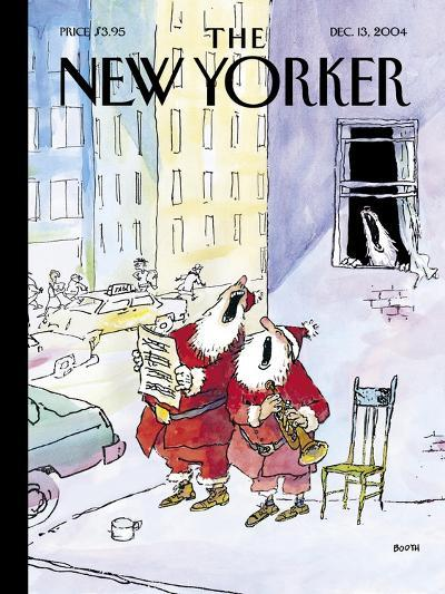 The New Yorker Cover - December 13, 2004-George Booth-Premium Giclee Print