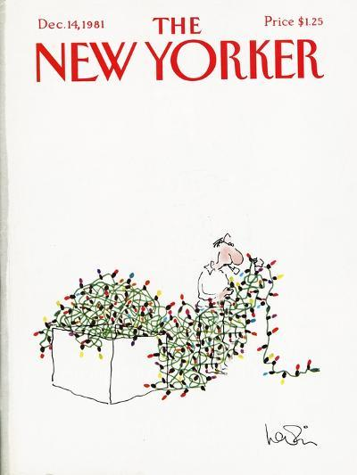 The New Yorker Cover - December 14, 1981-Arnie Levin-Premium Giclee Print