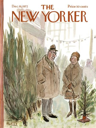 The New Yorker Cover - December 16, 1972-Frank Modell-Premium Giclee Print