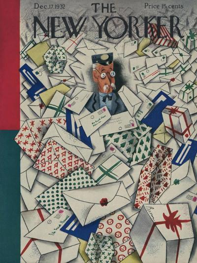 The New Yorker Cover - December 17, 1932-Harry Brown-Premium Giclee Print