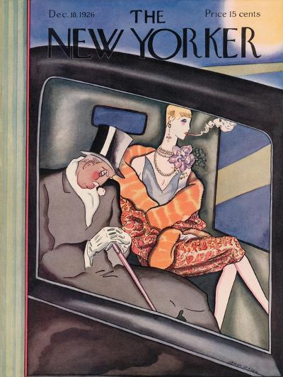 The New Yorker Cover - December 18, 1926-Ottmar Gaul-Premium Giclee Print