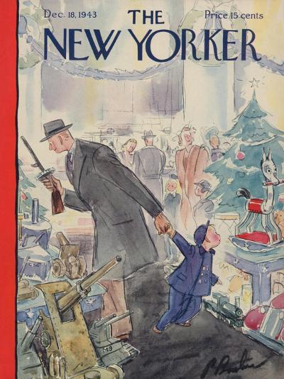 The New Yorker Cover - December 18, 1943-Perry Barlow-Premium Giclee Print
