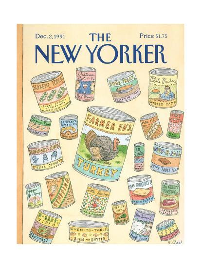 The New Yorker Cover - December 2, 1991-Roz Chast-Premium Giclee Print