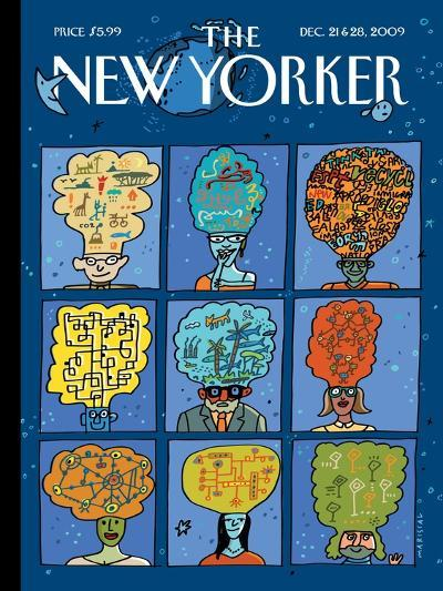 The New Yorker Cover - December 21, 2009-Mariscal-Premium Giclee Print