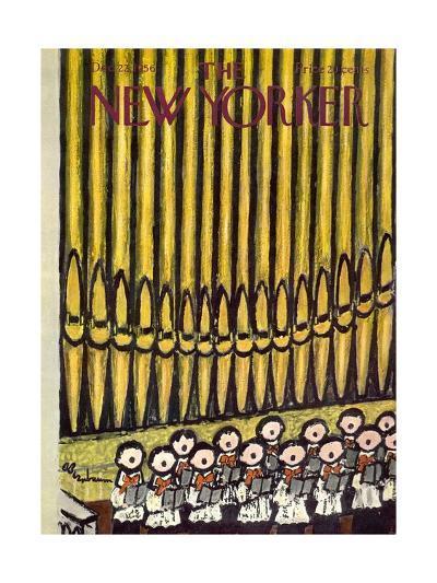 The New Yorker Cover - December 22, 1956-Abe Birnbaum-Premium Giclee Print