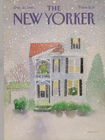 The New Yorker Cover - December 23, 1985-Susan Davis-Premium Giclee Print