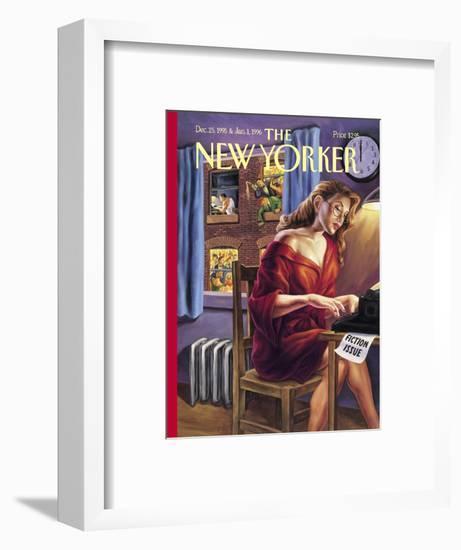 The New Yorker Cover - December 25, 1995-Owen Smith-Framed Premium Giclee Print