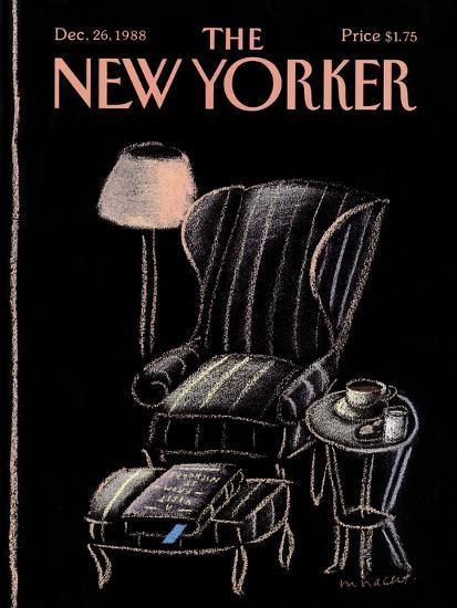 The New Yorker Cover - December 26, 1988--Premium Giclee Print