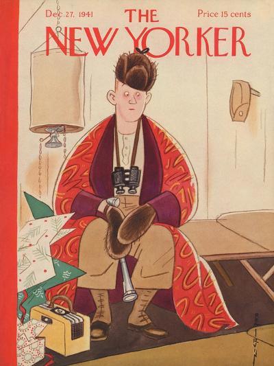 The New Yorker Cover - December 27, 1941-Rea Irvin-Premium Giclee Print