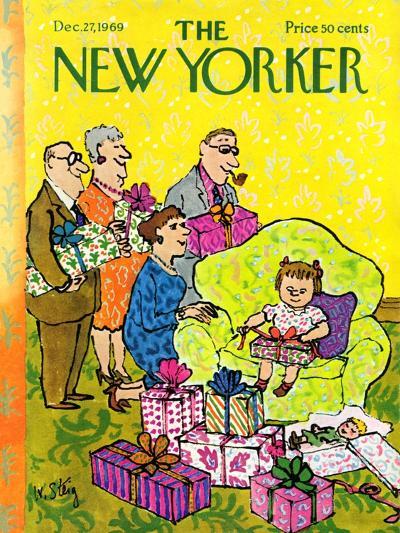 The New Yorker Cover - December 27, 1969-William Steig-Premium Giclee Print