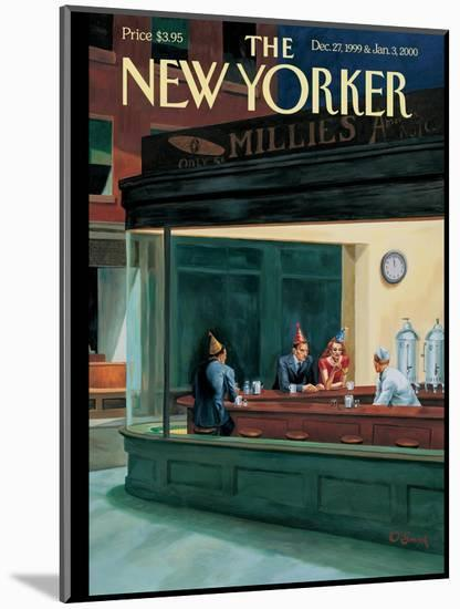 The New Yorker Cover - December 27, 1999-Owen Smith-Mounted Premium Giclee Print