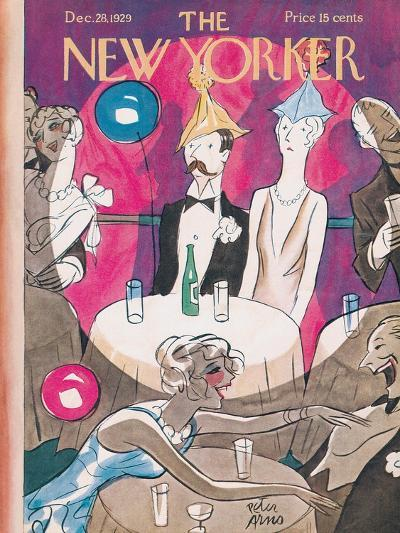 The New Yorker Cover - December 28, 1929-Peter Arno-Premium Giclee Print