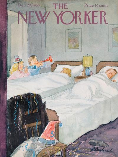 The New Yorker Cover - December 29, 1956-Perry Barlow-Premium Giclee Print
