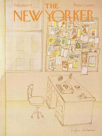 The New Yorker Cover - December 29, 1975-Eug?ne Mihaesco-Premium Giclee Print