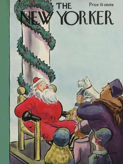 The New Yorker Cover - December 3, 1932-Helen E. Hokinson-Premium Giclee Print