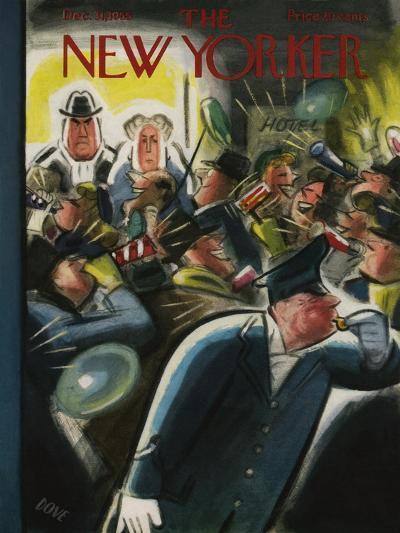 The New Yorker Cover - December 31, 1955-Leonard Dove-Premium Giclee Print