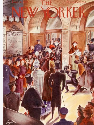 The New Yorker Cover - December 4, 1937-Constantin Alajalov-Premium Giclee Print