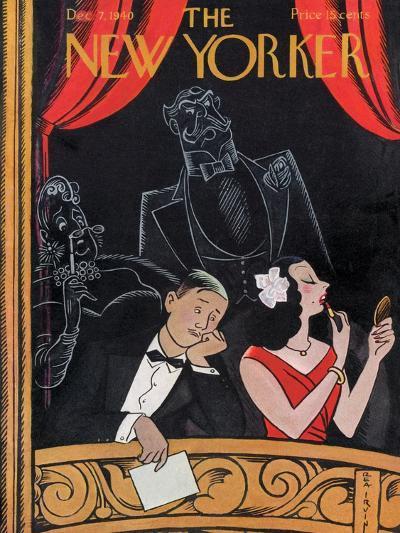 The New Yorker Cover - December 7, 1940-Rea Irvin-Premium Giclee Print